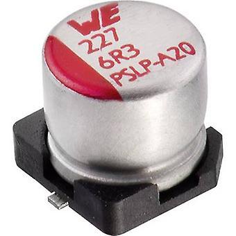 Würth Elektronik WCAP-PSLP 875105242010 Electrolytic capacitor SMD 100 µF 10 V 20 % (Ø x H) 5 mm x 5.5 mm 1 pc(s)