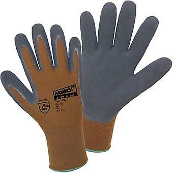L+D worky Nylon Latex FOAM 14902 Nylon Protective glove Size (gloves): 8, M EN 388 CAT II 1 pair