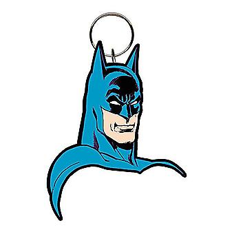 Llavero Flexible de Pvc de cara de Batman