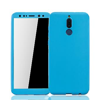Huawei mate 10 Lite mobile phone shell protection case cover tank protection glass light blue