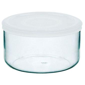Pyrex Round container with lid 12cm 0.5 150 (Kitchen , Kitchen Organization , Tuppers)