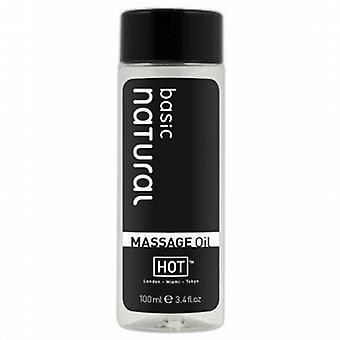 Massage oil HOT basic natural 100ml