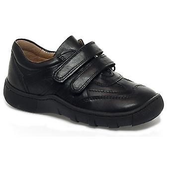Petasil Boys Victor 5702 School Shoes Black