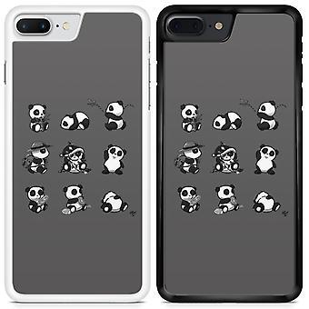 Panda Custom Designed Printed Phone Case For LG V30 Panda04 / White