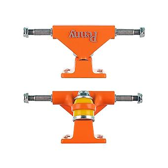 Penny Orange Solid Series - 3 Inch Pair of Cruiser Trucks