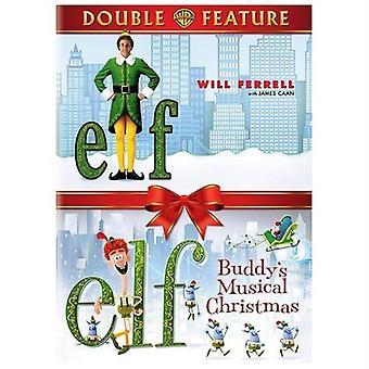 Alf / Elf: Buddys musikalske jul [DVD] USA importerer