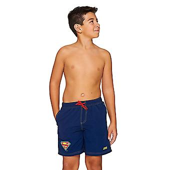 Zoggs 少年スーパーマン水ショート パンツ、ネイビー