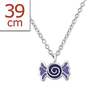 Candy - 925 Sterling Silver + Epoxy Colour Necklaces - W29845X