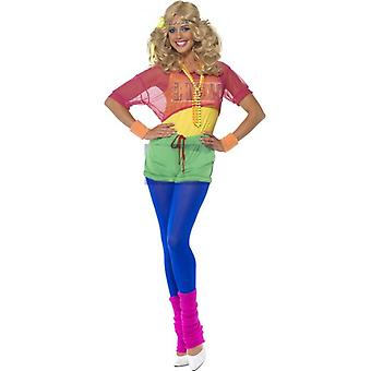 Smiffy's Let's Get Physical Girl Costume