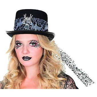 Cylinder spinning pattern Hat Halloween accessory