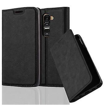 Cadorabo Hülle für LG G2 MINI - Handyhülle mit Magnetverschluss, Standfunktion und Kartenfach - Case Cover Schutzhülle Etui Tasche Book Klapp Style