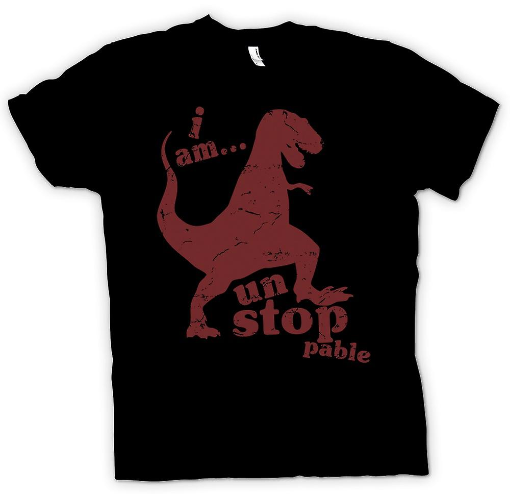 Kids T-shirt - T Rex - I Am Unstoppable