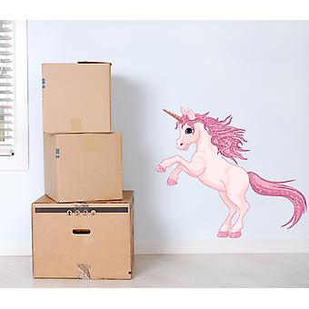 Full Colour Unicorn Wall Sticker