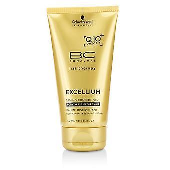 Schwarzkopf BC Excellium Q10+ Omega 3 Taming Conditioner (For Coarse Mature Hair) - 150ml/5.1oz