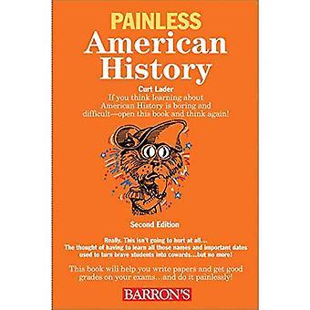 Pijnloos American History: 2e editie (Barron's pijnloos serie)