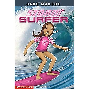 Surfer di tempesta (romanzo realistico con arco in pietra)
