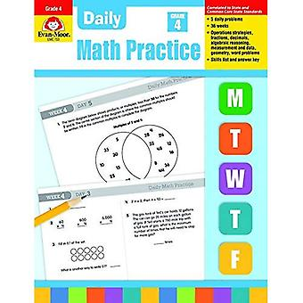 Daily Math Practice, Grade 4 (Daily Math Practice)