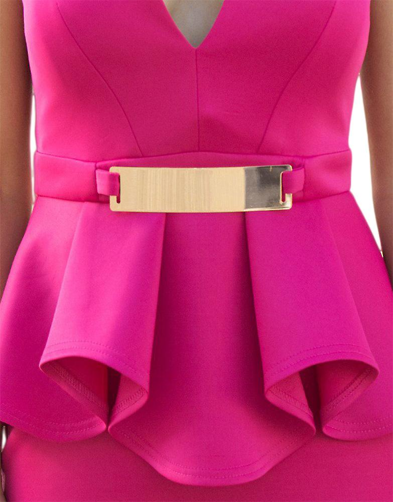 Waooh - Short dress with belt Esth