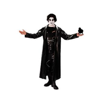 Orion Costumes Mens The Crow Avenger Goth Rock Halloween Film Fancy Dress