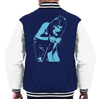 TV Times Rod Stewart With The Faces Men's Varsity Jacket