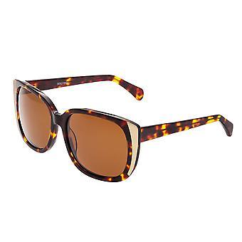 Bertha Natalia Polarized Sunglasses - Tortoise/Brown