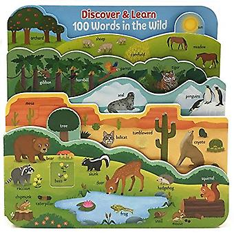 Discover & Learn 100 Words� in the Wild (Discover & Learn) [Board book]