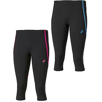 Asics Adrenaline Womens Ladies Knee Tight 3/4 Running Capri Legging