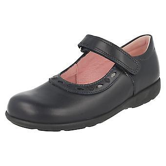 Start Rite Atlantic Leder Mary Jane Mädchenschule Schuhe Schere Größe 1G UK