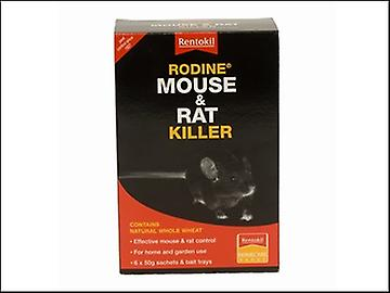 Rentokil Rodine Mouse & Rat Killer 300g