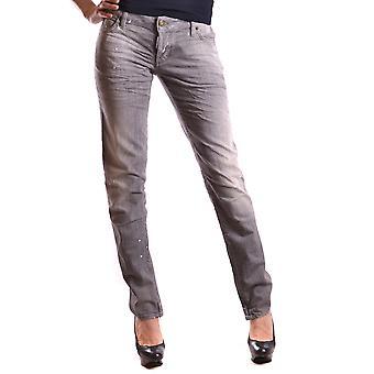 DSquared2 Grijze katoenen Jeans