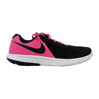 Nike Flex erleben 5 rosa Blast/schwarz-weiß-Grundschule 844991-600 Größe 6 breit