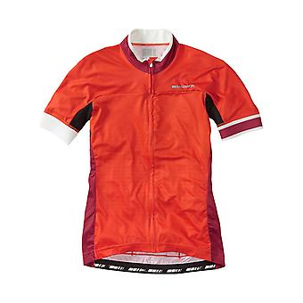 Madison Chilli Red Fade 2016 Sportive Race Womens Short Sleeved Cycling Jersey