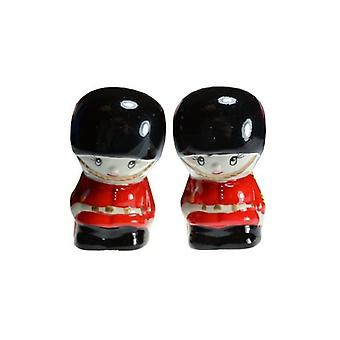 Union Jack Wear London Guardsman Cruet Set