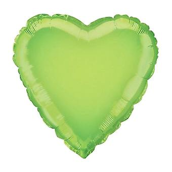 Unique Party Heart Foil Balloon (Pack Of 5)