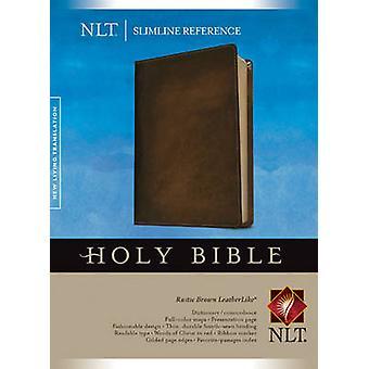 Slimline Reference Bible-NLT - 9781414397702 Book