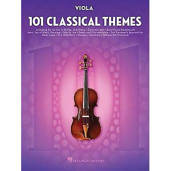101 Classical Themes for Viola by Hal Leonard Publishing Corporation