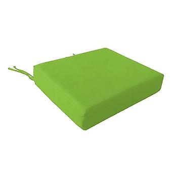 Foam Wheelchair Seat Cushion in Cotton Cover - Lime