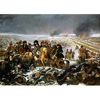 Napoleon at the Battlefield of Eylau, Antoine-Jean Gros, 50x36cm