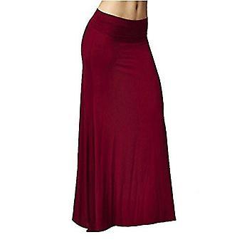 Dbg vrouwen vrouwen Maxi hoge taille rayon rokken