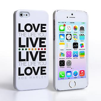Caseflex iPhone 5 and 5S Bob Marley Quote Case