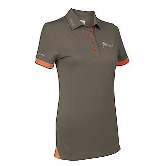 LeMieux Lemieux My Lemieux Womens Polo Shirt - Khaki