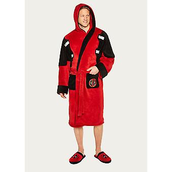 Deadpool Dressing Gown Albornoz (red de piscina muerta)