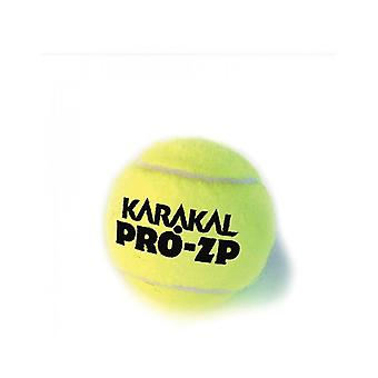 Karakal Pro ZP Tennis Ball Zero Pressure Coaching Training Balls - 1 Dozen