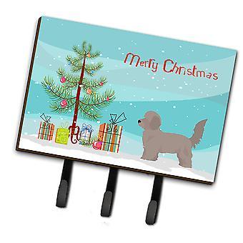 Carolines Treasures  CK3826TH68 Doxiepoo Christmas Tree Leash or Key Holder