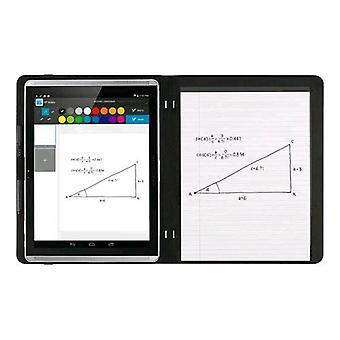 Hp paper flip cover case for tablet pro slate 12 in polyurethane microfiber color graphite