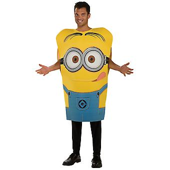 Minion Dave Despicable Me 2 Movie Foam Funny Licensed Adult Mens Costume STD