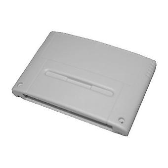 Compatible replacement game cartridge shell case for nintendo snes eu version - grey