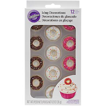 Royal Icing Dekorationen-Donut W6009