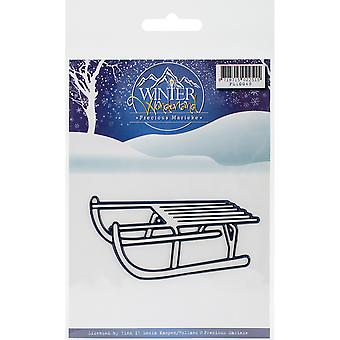 Find It Trading Precious Marieke Winter Wonderland Die-Sled PM10049