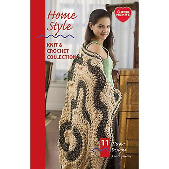 Coats & Clark Books Home Style Assorted Yarns J27 5